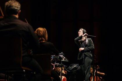 Concerts of the Video Game Symphony, by the Orchestre symphonique de Québec and conductor Dina Gilbert, on Nov. 22 and 23, 2018, at the Grand Théâtre. Photo by Nadia Zheng